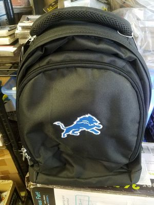 Mojo Licensing Premium Wheeled Backpack Detroit lions- for Sale in Galloway, OH