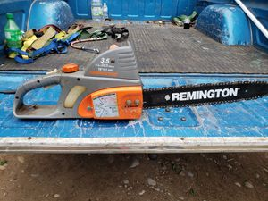 Electric chainsaw with chain for Sale in Roy, WA