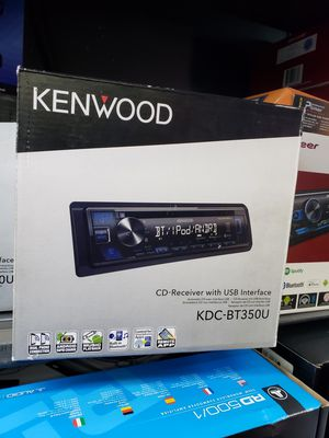 Kenwood car stereo Bluetooth usb aux for Sale in San Diego, CA