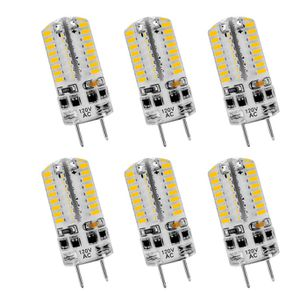 Brand New in Box (6 Packs) G8 LED Bulbs Dimmable 120V 3W Warm White 3000K, 25W Halogen G8 Led Bulb Equivalent, 64 X 3014 SMD Energy Saving Light Bul for Sale in Hayward, CA