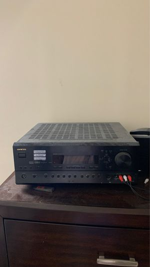 onkyo surround sound system really old but works completely fine for Sale in Broadlands, VA