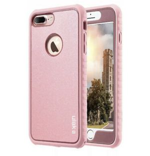 New In Box, iPhone 8 Plus, Pink Shockproof for Sale in Apple Valley, CA