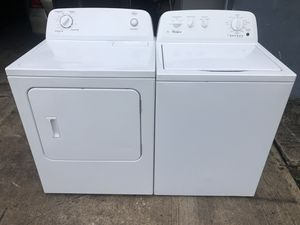 Whirlpool washer and dryer for Sale in Lake Worth, FL