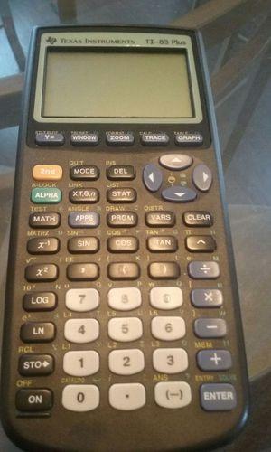 TI-83 Plus calculator $35 for Sale in Detroit, MI