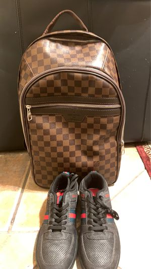 Gucci shoes and Louis bag for Sale in Sacramento, CA