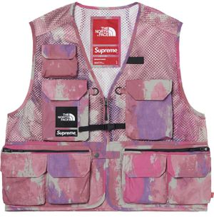 Supreme x The North Face Vest SMALL & XLARGE (Multicolor) for Sale in Vandergrift, PA