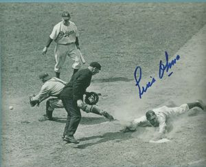 Luis Olmo autographed 8x10 photo for Sale in Poinciana, FL