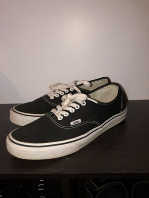 Vans black low top size 10.5 for Sale in Vanport, PA