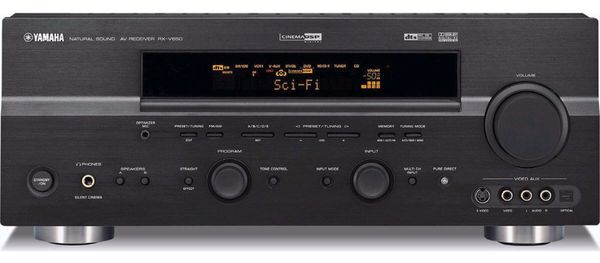 Yamaha RX-V650 Natural Sound AV Receiver