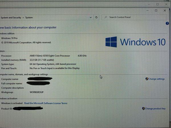 Computer (PC) + monitor