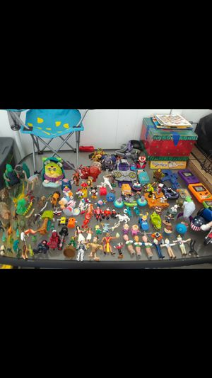Vintage toys Disney, Rugrats, Kurby, Dinosaurs, Jack in the Box & lots of more toys for Sale in Downey, CA