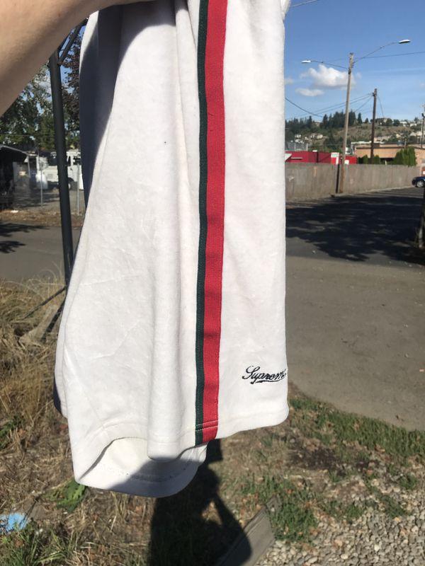 Supreme velour shorts