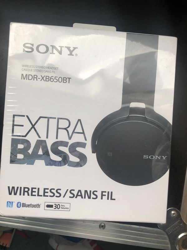 Song Headphones MDR-XB650BT - Unopened