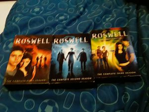 Roswell TV series seasons 1-3 for Sale in West Seneca, NY