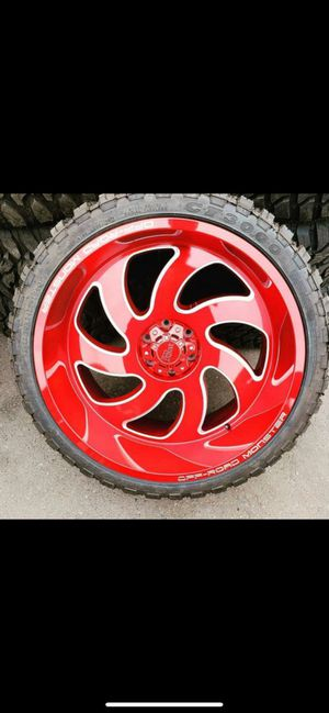20x12 RIMS AND TIRES for Sale in Phoenix, AZ