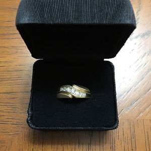 💍 TRIED ON ONCE‼️ ( MINT CONDITION !!! ( 14 K MENS GOLD BAND / w 1/2 CARAT OF DIAMOND !!!!! ( MENS SIZE 9 ) * LIMITED TIME SALE 📛 * OBO !!! for Sale in Orlando, FL