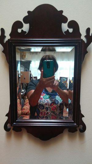 Mirror & shelve, wooden by Bombay Co. for Sale in Woodbridge, VA
