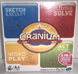 2014 Cranium 3-in-1 Board Game Family Fun HASBRO for Sale in Austell,  GA