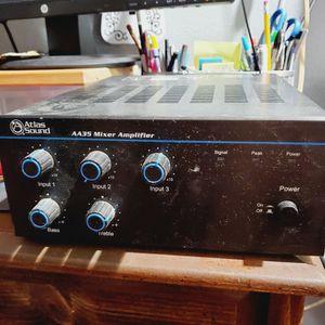 Atlas Sound AA35 Mixer Amplifier for Sale in Chesapeake, VA