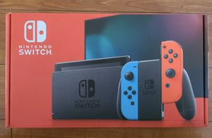 BRAND NEW Nintendo Switch Console With Neon Red and Blue Joy Con (Newest Model) for Sale in Mount Vernon, NY