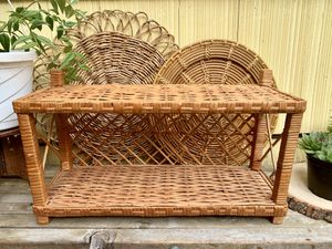 Small Wicker Wall Shelf for Sale in North Bend, WA