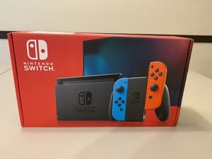 BRAND NEW Nintendo Switch 32GB Console w/ Neon Red and Blue Joy‑Con for Sale in Denver, CO