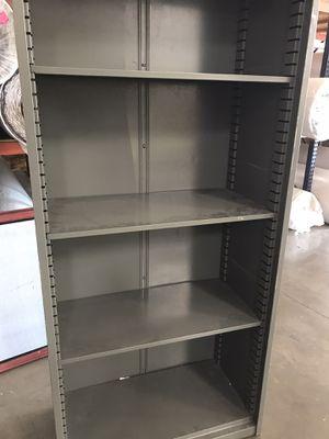 Metal Storage Cabinet (Adjustable) for Sale in Sacramento, CA