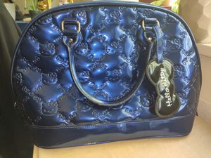 """""""Hello Kitty"""" Purse, Midnight Blue (PRICE NEGOTIABLE) (See photos attached) for Sale in Annandale, VA"""