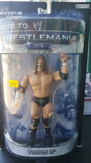 WWE ACTION FIGURE COLLECTIBLE TRIPLE H PICK UP IN WHITTIER for Sale in Whittier, CA