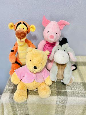 Disney Winnie the Pooh plush lot for Sale in Compton, CA