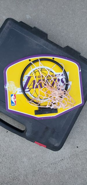 Lakers mini basketball for Sale in Fontana, CA