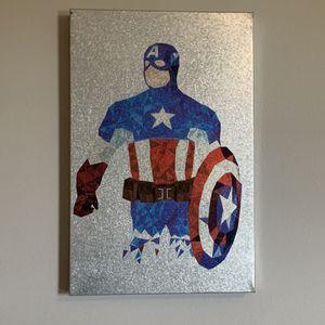 Original MARVEL Captain America frame for Sale in Brandon, FL