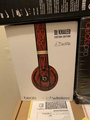 Beats studio 3 wireless DJ Khaled custom edition for Sale in Allentown, PA