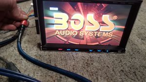 Boss 7in touch screen with all the goodies for Sale in BRUSHY FORK, WV