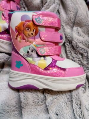 Girls Size 9/10 Paw Patrol Boots for Sale in Federal Way, WA