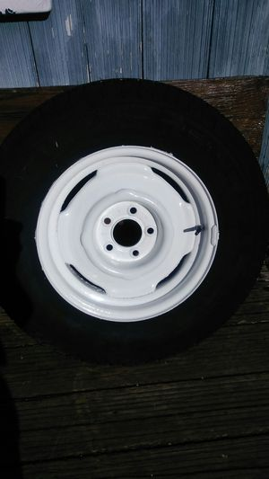 (2) 205/75R15 Tires & Wheels (Matching Pair) for Sale in Oregon City, OR