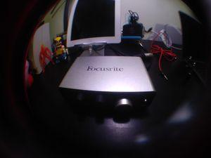 Focusrite iTrack Solo USB Interface for Sale in Union, NJ