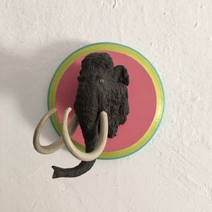Wooly Mammoth Wall Plaque for Sale in Los Angeles, CA