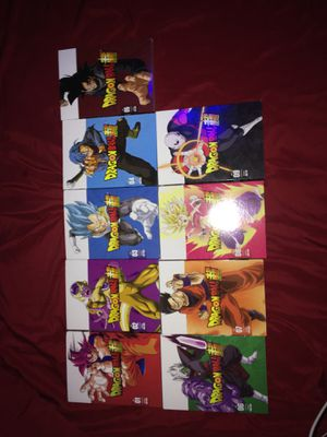 Dragon ball super part 1-9 dvd for Sale in Fort Worth, TX