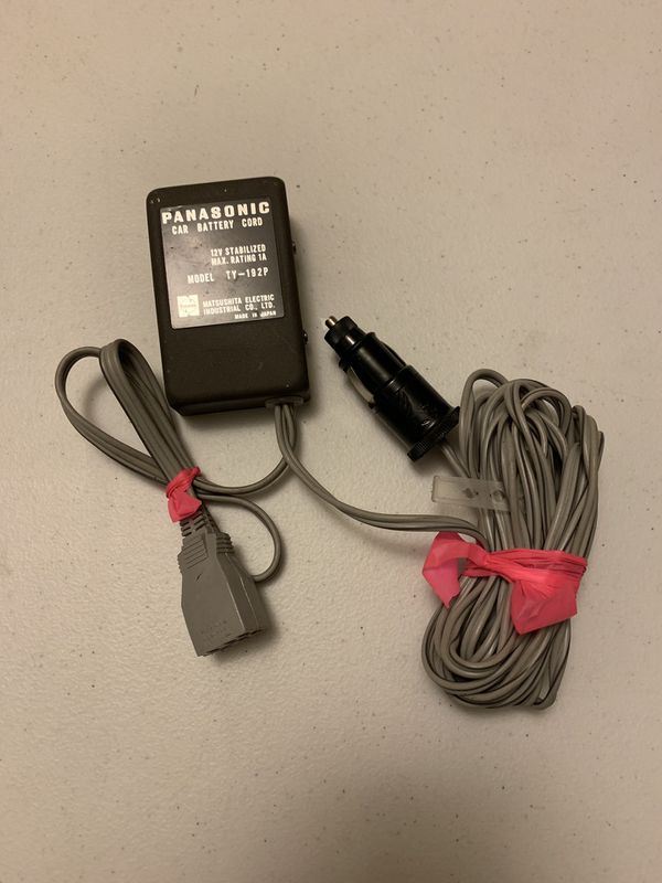 Panasonic Car Battery Cord