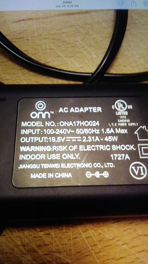 Ac adapter for lap top. for Sale in Joliet, IL