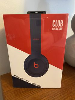 NEVER OPENED - Beats Solo 3 Wireless CLUB Collection Navy Blue for Sale in Woodbridge,  VA