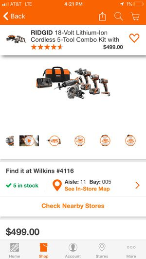 Ridgid Power tool set for Sale in Murrysville, PA
