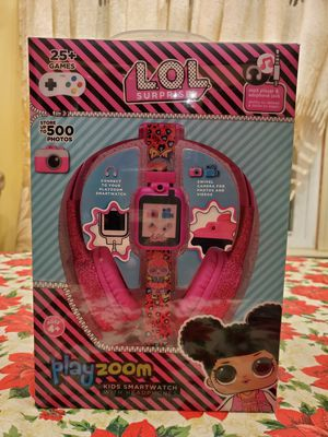 L.O.L. SURPRISE! PLAYZOOM KIDS SMARTWATCH WITH HEADPHONES for Sale in Florissant, MO