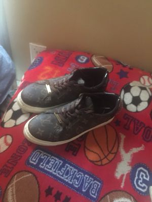 Brown monogrammed Louis Vuitton sneakers for Sale in Nashville, TN