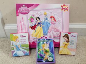 Princess Puzzle & Card Games for Sale in Fayetteville, NC