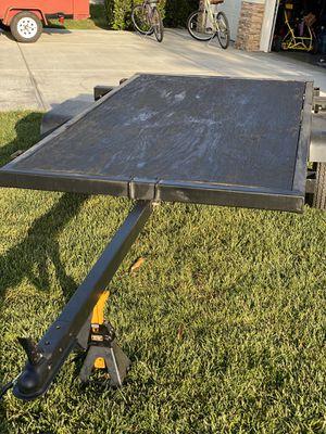 Utility Trailer, Tilt Bed Utility Trailer, 4x8 Trailer for Sale in Corona, CA