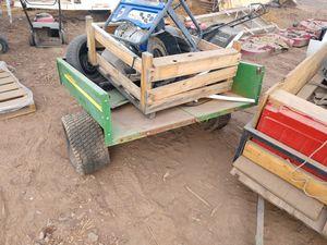 John Deere cart or trailer 125 the way it is for Sale in Phoenix, AZ