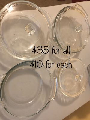 Pyrex and other dishes for Sale in Levittown, PA