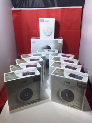 BRAND NEW IN BOX NEVER USED Nest E Thermostat, Nest 3rd Generation & Nest +2 Temperature for Sale in Bloomfield, NJ